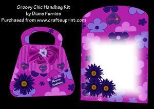 Groovy Chic Handbag Card Kit