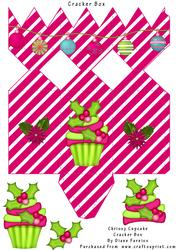 Chrissy Cupcake Cracker Box