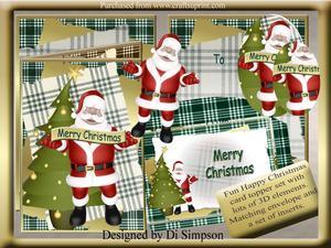 Merry Christmas-santa-kit