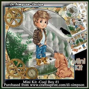 Mini Kit - Cool Boy #1- Ages 6-10yrs