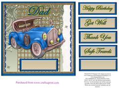 Vintage Car for Dad #3
