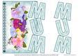 Floral & Lace Mum -blue