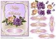 Heritage Roses-happy Birthday