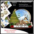 Merry Christmas - Snow Scene