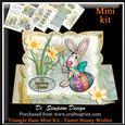 Triangle Base Mini Kit - Easter Bunny Wishes