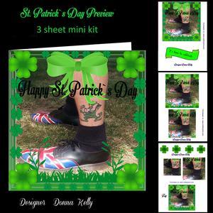 St Patrick's Day Mini Kit