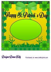 St. Patrick's Day Insert