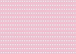 Easter Background with Hearts