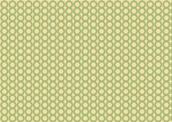 Easter Background Green and Yellow with Dots