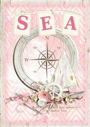The Summer Sea Card Front