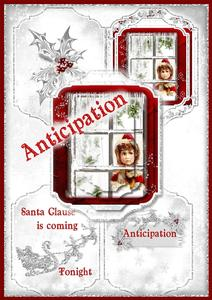 Christmas Anticipation Pyramage Card Set