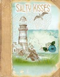 Salty Kisses A4 Summer Beach A4 Card Front