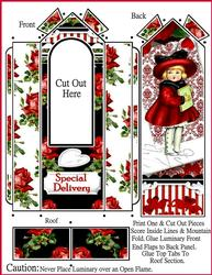 Special Delivery Valentine Luminary with Directions