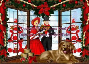 Beautiful Christmas Carols A4 Inverted Tunnel Card Kit