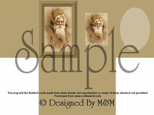 Santa Card Kit 1