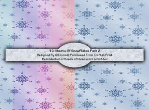 Snow Flakes Pack 2