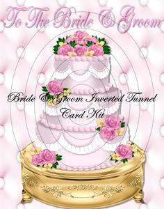 To the Bride & Groom Inverted Tunnel Card Kit