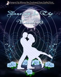 Dancing in the Moonlight Inverted Tunnel Card Kit