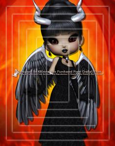 Devil from Hell A4 Pyramid Card Kit 2