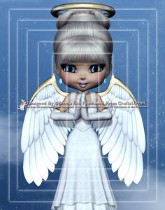Angel from Heaven A4 Pyramid Card Kit
