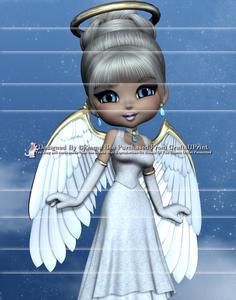 Angel from Heaven A4 Side Stacker Card Kit 2