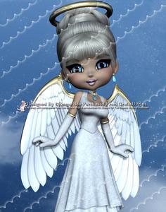 Angel from Heaven A4 Deckle Edge Corner Stacker Card Kit 2