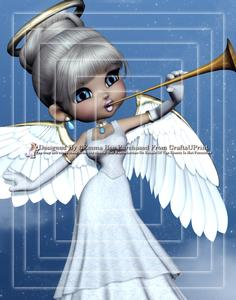 Angel from Heaven A4 Pyramid Card Kit 3