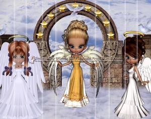 3 Guardian Angels A4 Side Stacker Card Kit