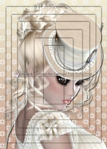 Louise Blonde A4 Pyramid Card Kit