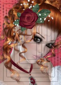 Rosebud Beauty Red A4 Pyramid Card Kit