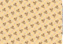 Teddies and Polka Dots Background 4