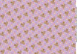 Teddies and Polka Dots Background 5