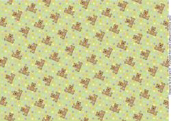Teddies and Polka Dots Background 6