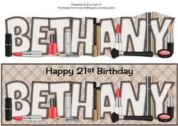 Make-up Bethany 21st Large Dl