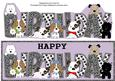 Patch, Kosmo and Jazz Birthday Large Dl