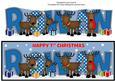 Rudolf and Friends 1st Xmas Rowan Large Dl