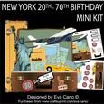 New York 20th-70th Birthday Mini Kit