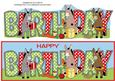 Donkeys and Presents Birthday Large Dl