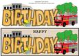 Fire Engine Birthday Large Dl 3