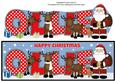 Santa and His Reindeers Ollie Large Dl