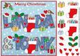 8x8 Christmas Names Linda & Tony