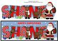 Santa and His Reindeers Shane Large Dl