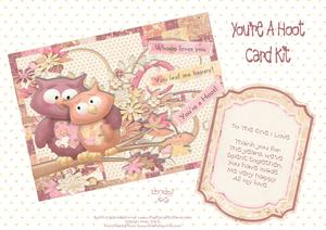 You're a Hoot Card Kit