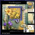 Cardtopper Daffodils Happy Easter 798