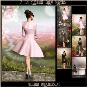 7 Elegant Lady Papers