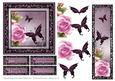 Roses with Butterflies Topper