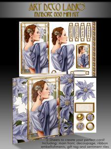 Art Deco Pandore (lilac) 8x8 Mini Kit