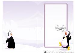 Penguin Biscuits! Insert