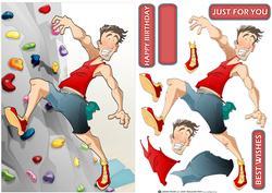 Indoor Climber Dude