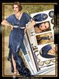 Art Deco Lady Elise Kit Blue